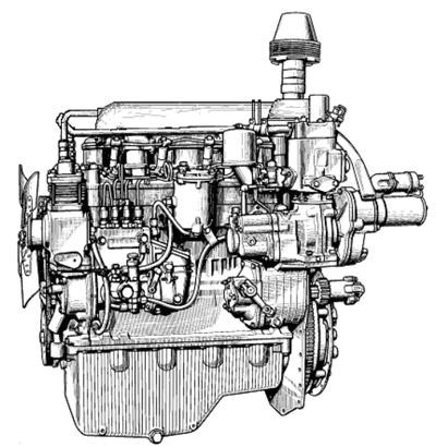 Дизельный двигатель трактора МТЗ